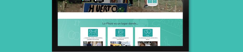 miPlaza WEBSITE